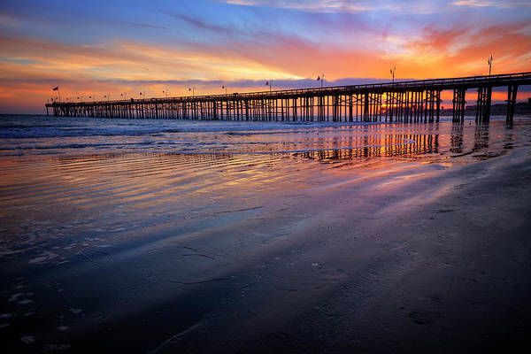 Wall Art - Photograph - California Sunset Vii by Ricky Barnard