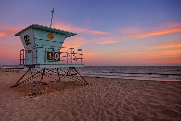 Wall Art - Photograph - California Sunset Viii by Ricky Barnard