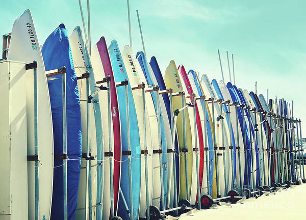 Wall Art - Photograph - California Surfboards by Sylvia Cook