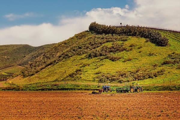 Photograph - California Wine Yards by Susan Candelario