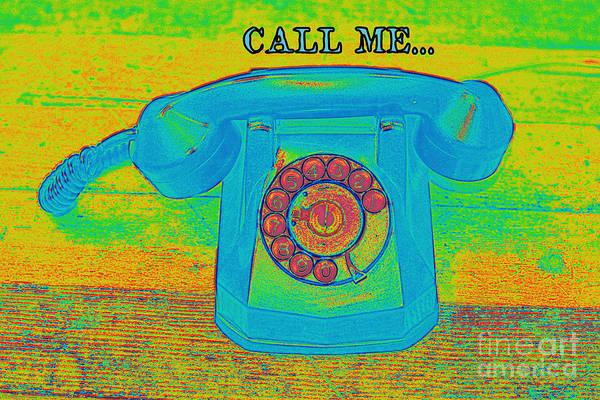 Blondie Digital Art - Call Me by David Hinds