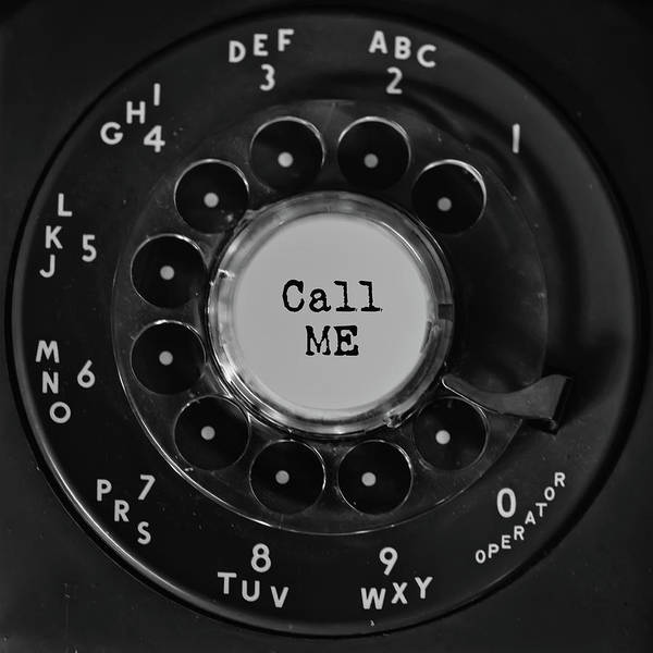 Photograph - Call Me Vintage Phone Dial Square  by Terry DeLuco