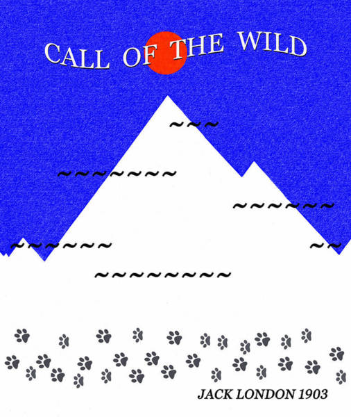 Wall Art - Digital Art - Call Of The Wild Minimal Artwork by David Lee Thompson