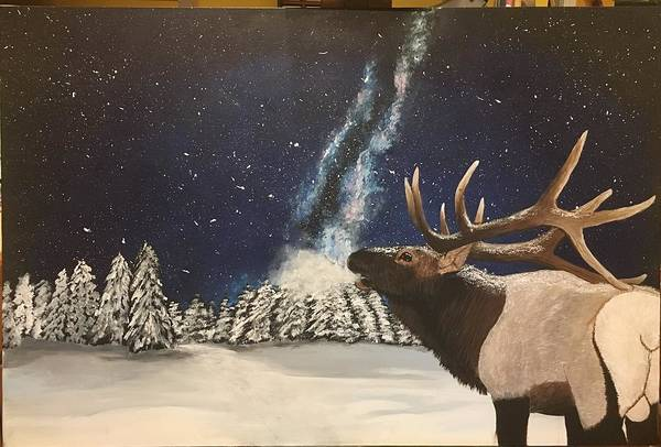 Wall Art - Painting - Call Of The Wild by Taylor Warner