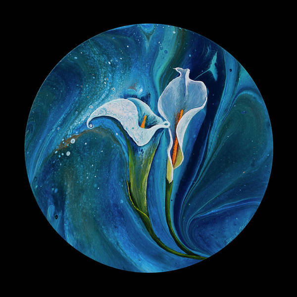 Painting - Calla Lily by Darice Machel McGuire