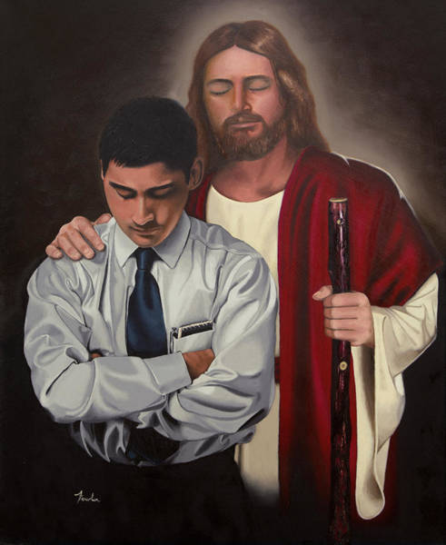 My Son Painting - Called To Serve Other Christian by Todd Fowler