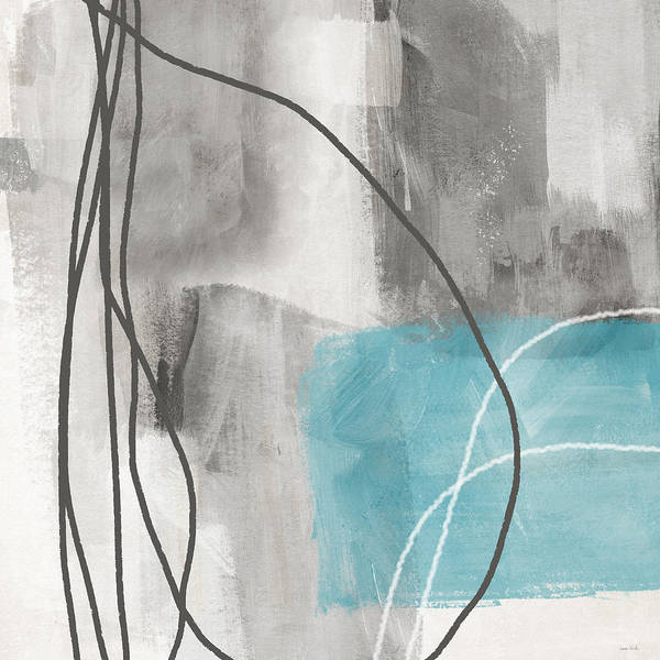 Wall Art - Mixed Media - Calm Abstract 1- Art By Linda Woods by Linda Woods