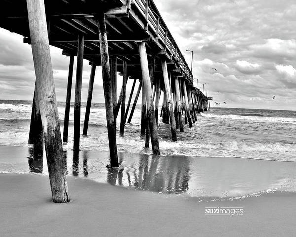 Photograph - Calm Before The Storm Bw by Susie Loechler