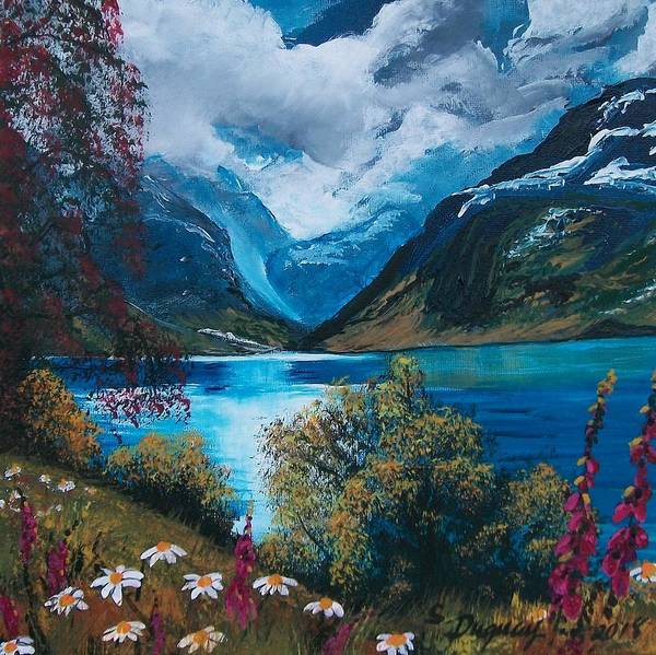 Painting - Calm Before The Storm by Sharon Duguay