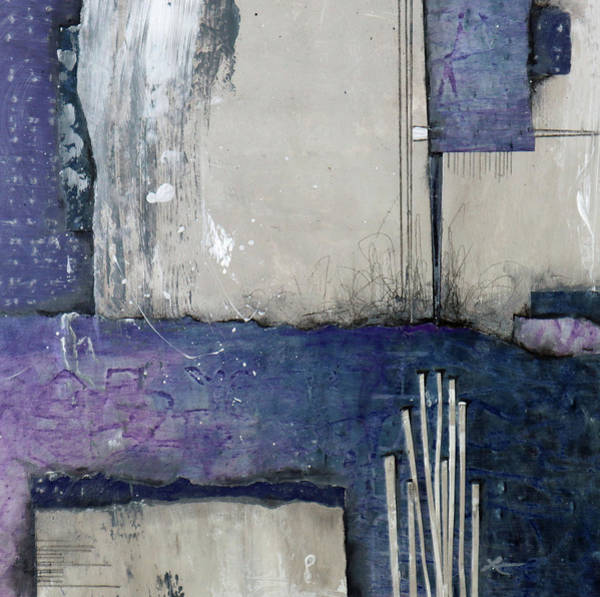 Wall Art - Mixed Media - Calm Cool by Laura Lein-Svencner