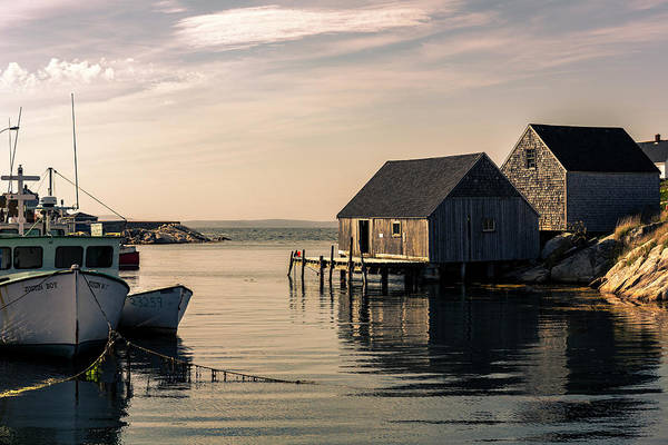 Peggys Cove Photograph - Calm Of The Cove by Everet Regal