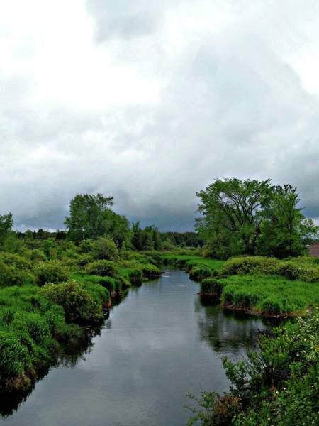 Photograph - Calming Country Scenery by Cyryn Fyrcyd
