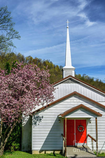 Photograph - Calvary Baptist Church In Spring by Thomas R Fletcher