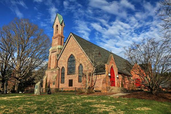 Photograph - Calvary Episcopal Church Fletcher North Carolina II by Carol Montoya
