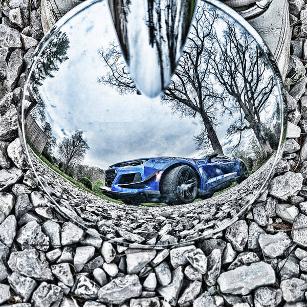 Photograph - Camaro Reflection by Sharon Popek