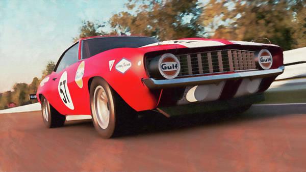 1969 Chevrolet Camaro Paintings   Fine Art America