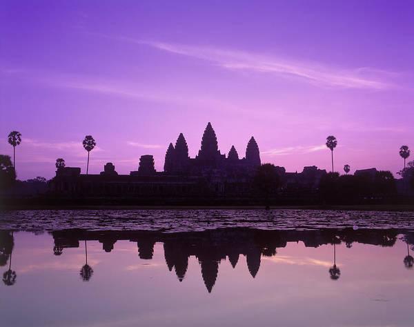 World Class Photograph - Cambodia, Angkor Wat, Unesco World by David Ball