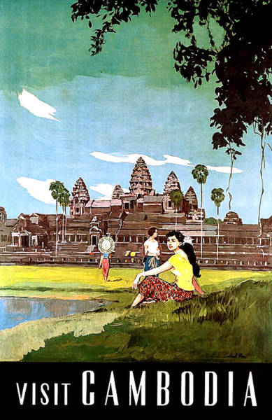 Wall Art - Digital Art - Cambodia by Long Shot