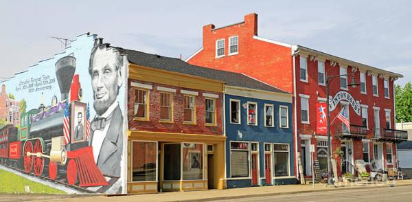 Wall Art - Photograph - Cambridge City, Indiana by Steve Gass