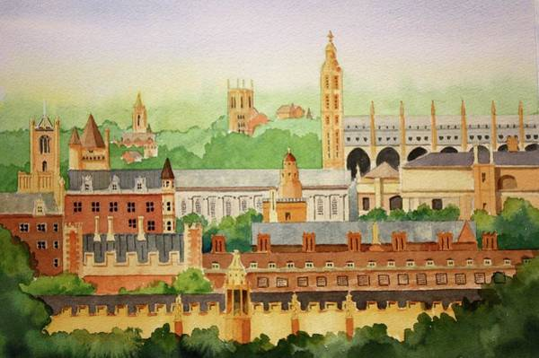 Painting - Cambridge Uk by William Renzulli