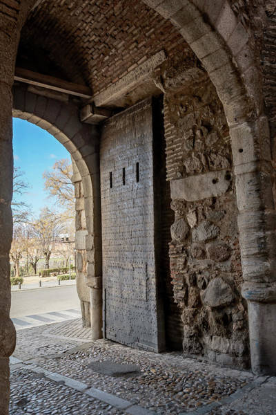 Photograph - Cambron Gate Toledo Spain by Joan Carroll