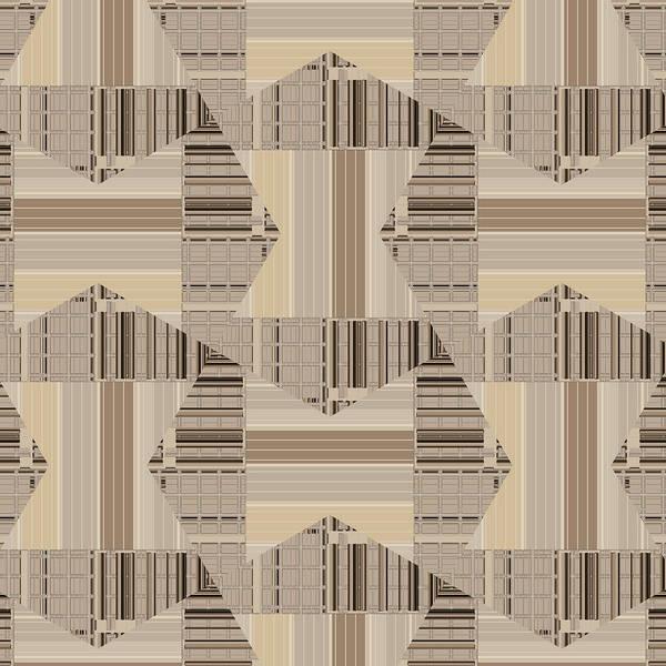 Digital Art - Camel Beige Pattern Art by Judi Suni Hall