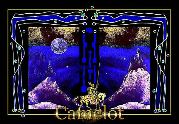 Painting - Camelot by Hartmut Jager