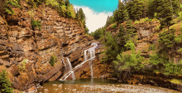 Photograph - Cameron Falls Waterton National Park by Ola Allen