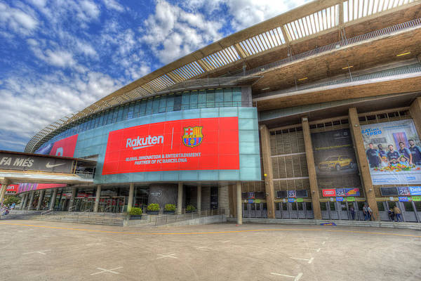 Wall Art - Photograph - Camp Nou Stadium Barcelona  by David Pyatt