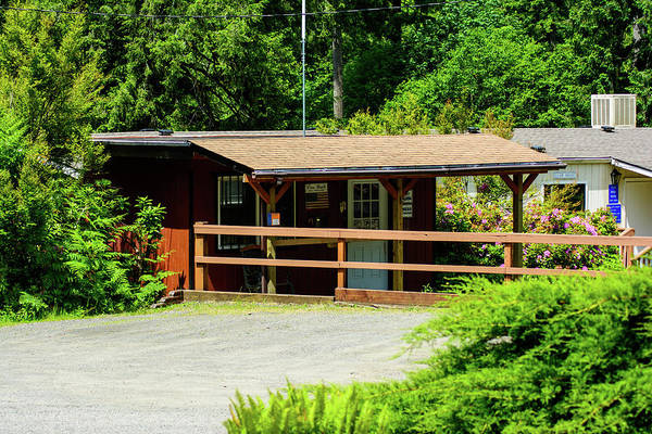 Photograph - Camp Paradise Office And Clubhouse by Tikvah's Hope