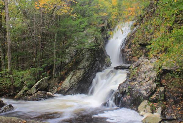 Wall Art - Photograph - Campbell Falls High Water In Autumn by John Burk