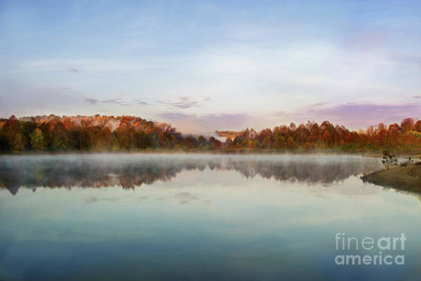 Photograph - Campbell Lake by Ed Taylor