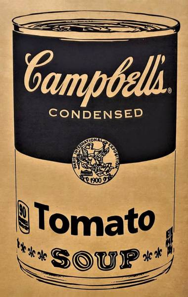 Photograph - Campbell's Soup On Cardboard by Rob Hans