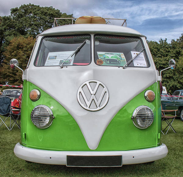 Wall Art - Photograph - Camper Fun  by Martin Newman