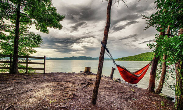 Photograph - Camping In Mountains Near A Lake by Alex Grichenko