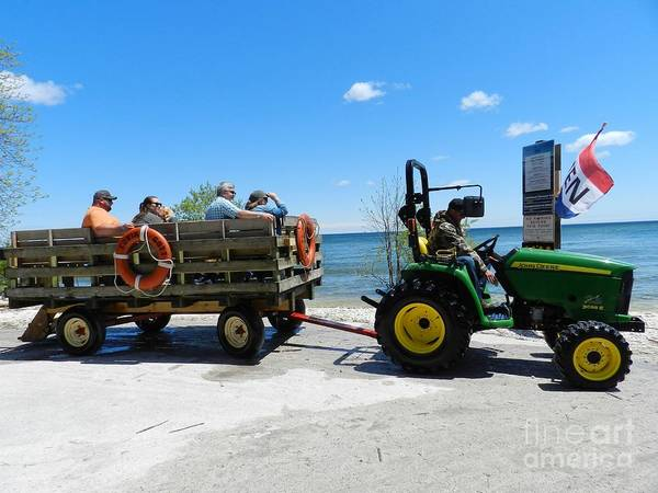 Wall Art - Photograph - Cana Island Transportation by Snapshot Studio