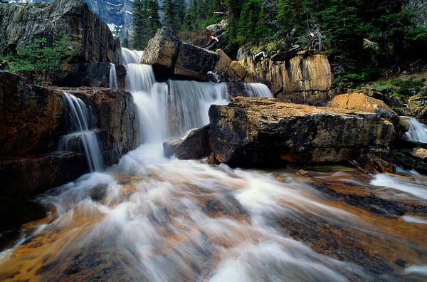 Art In Canada Photograph - Canada, Alberta, Banff Np, Giant Steps by Art Wolfe