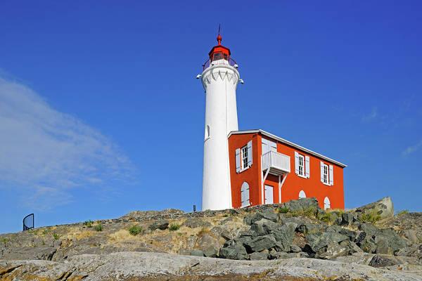 Wall Art - Photograph - Canada, British Columbia, Fisgard Island by Jaynes Gallery
