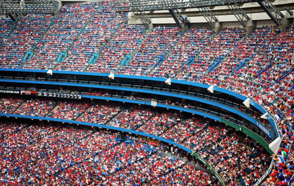 Toronto Blue Jays Photograph - Canada Day by Dominic Blewett