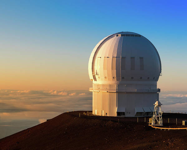 Photograph - Canada-france-hawaii Telescope by William Dickman