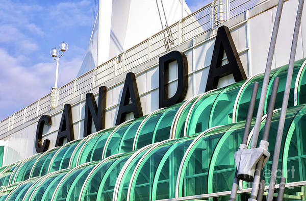 Photograph - Canada In Vancouver by John Rizzuto