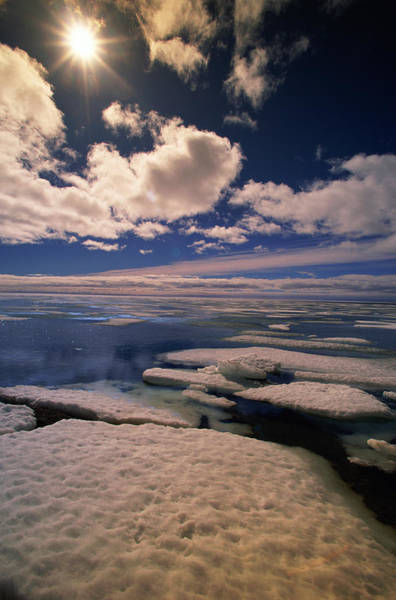 Wall Art - Photograph - Canada, Nunavut Sea Ice In Spring by Eastcott Momatiuk
