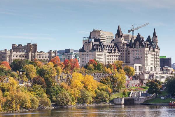Wall Art - Photograph - Canada, Ontario, Ottawa, Autumn by Walter Bibikow