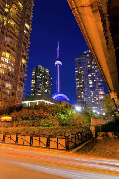 Cn Tower Wall Art - Photograph - Canada, Ontario, Toronto, Cn Tower by Alan Copson