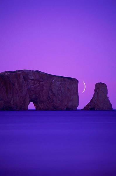 Quebec Photograph - Canada, Quebec, Gaspe Peninsula, Perce by Chris Cheadle