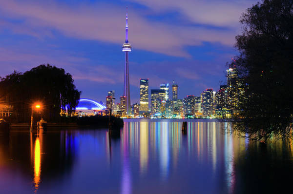 Cn Tower Wall Art - Photograph - Canada, Toronto, Cn Tower And Downtown by Alan Copson
