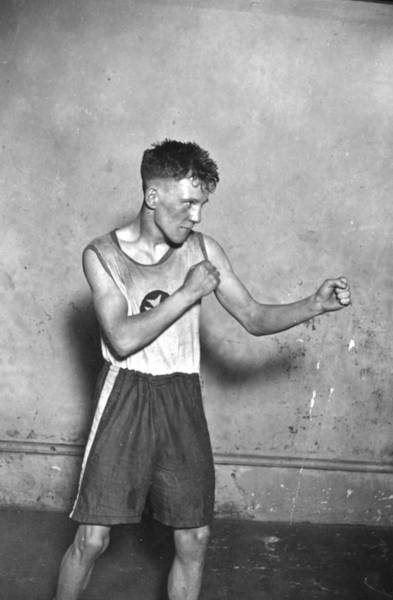 1923 Photograph - Canadian Boxer by Topical Press Agency