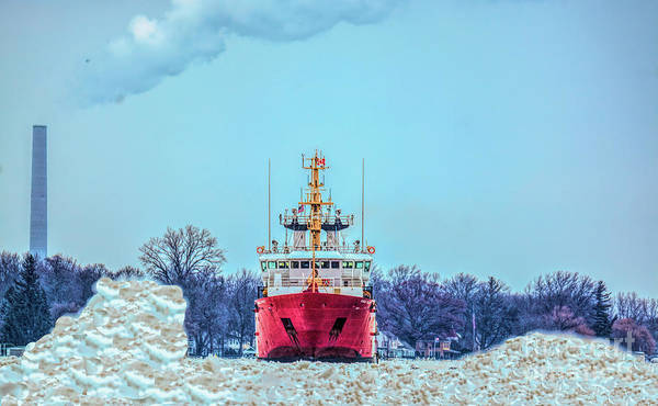 Photograph - Canadian Coast Guard Cutter by Randy J Heath