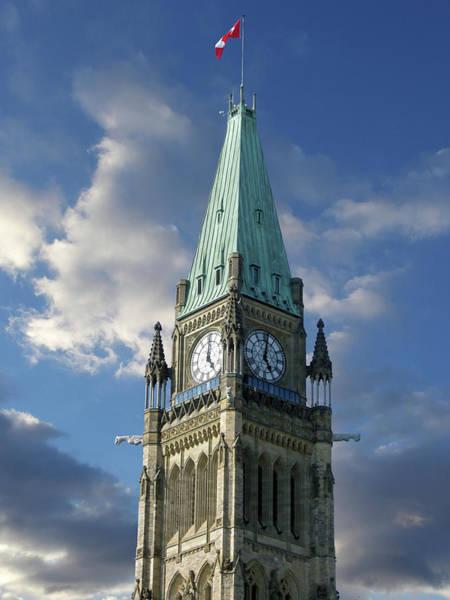 Canadian Culture Photograph - Canadian Parliament Buildings by Images Etc Ltd