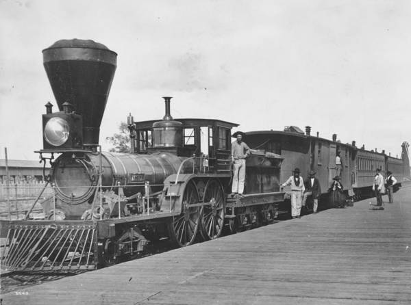 Canadian Culture Photograph - Canadian Railway by William England